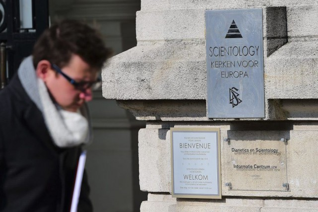 L'Église de scientologie risquait l'interdiction pure et simple... (PHOTO EMMANUEL DUNAND, AFP)