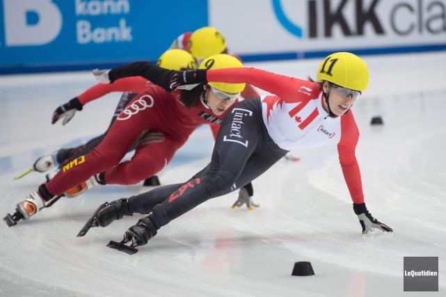 Les quatre athlètes de la région, soit Marianne... ((Archives Le Quotidien))