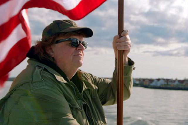 Michael Moore s'avère un infatigable empêcheur de tourner... (Fournie par Métropole Films)