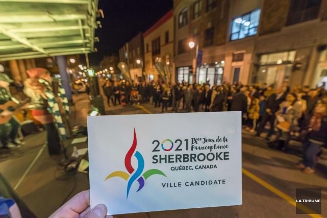 La Ville de Sherbrooke retire sa candidature en vue de la présentation des Jeux... (Archives La Tribune, Frédéric Côté)