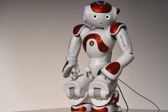 Le robot mario a été présenté à la... (Agence France-Presse, Tobias Schwarz)