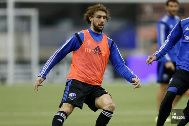 Marco Donadelest blessé à la jambe.... (Photo Olivier Jean, archives La Presse)