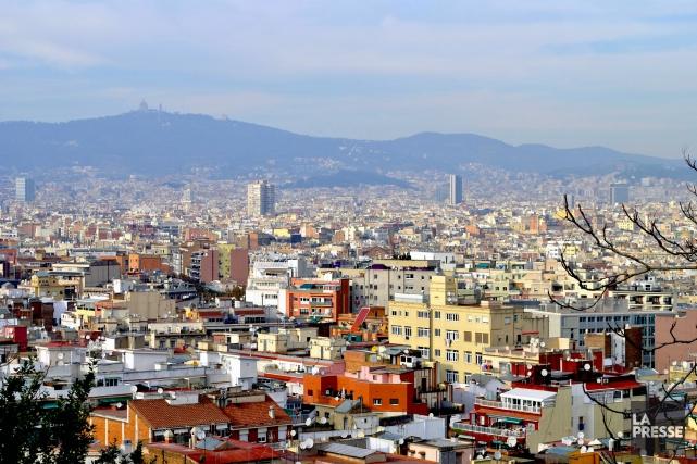 Depuis les années90, Barcelone a vu le nombre... (PHOTO LAILA MAALOUF, LA PRESSE)