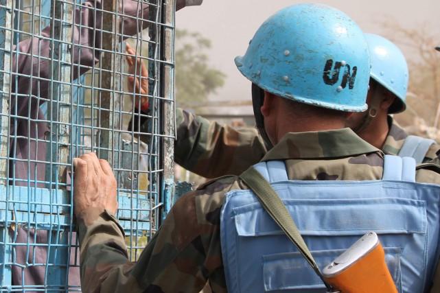 Le Conseil de sécurité des Nations unies a adopté vendredi avec difficulté une... (Photo AFP)