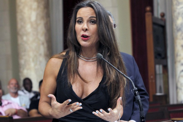 Kate del Castillo affirme que la portion du... (archives Associated Press)