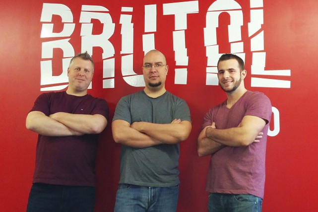 La compagnie Brutal Studio est formée de Mario... (Courtoisie)
