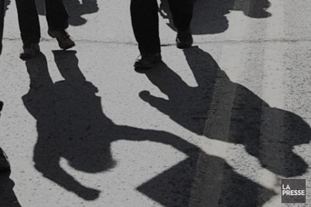 Une manifestation contre l'austérité s'est déroulée pratiquement sans heurts,... (Photo d'archives La Presse)