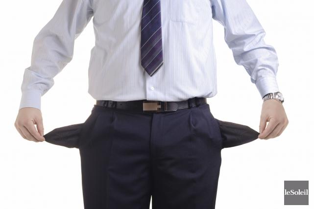 La dette totale des ménages, qui inclut le... (Photothèque Le Soleil)