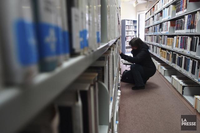 Pour devenir une bibliothèque moderne, dotée de grands... (PHOTO ARCHIVES LA PRESSE)