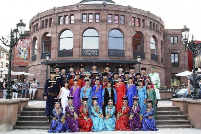 La troupe de la République de Bouriatie (Russie)... (Photo fournie)