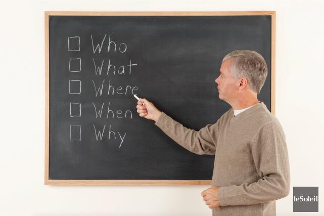 L'enseignement intensif de l'anglais en 6e année du... (Photothèque Le Soleil)