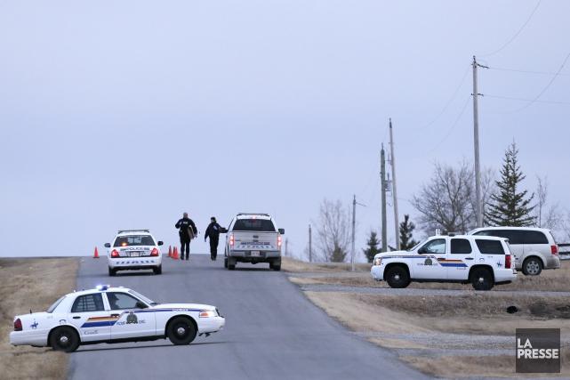 Ces événements ont eu lieu dans un cimetière... (Photo La Presse Canadienne)