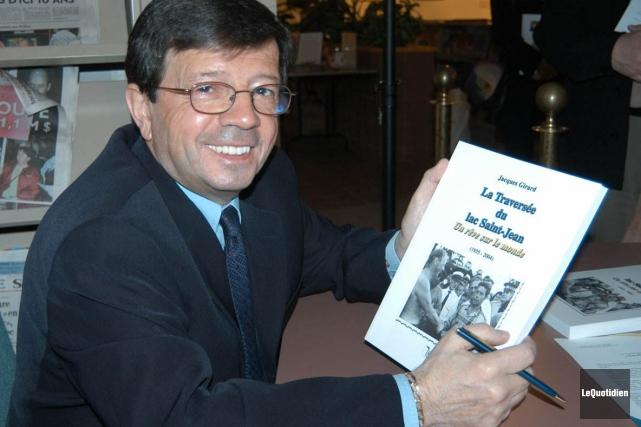 En 2004, Jacques Girard a lancé un livre... (Archives Le Quotidien)