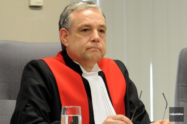 Le juge Michel Boudreault... (Archives Le Quotidien)