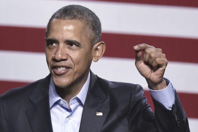 Barack Obama a ajouté que l'Amérique se portait... (PHOTO MANDEL NGAN AFP)
