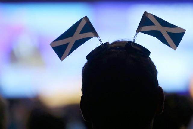 Le 18septembre2014, les Écossais avaient rejeté l'indépendance par... (PHOTO RUSSELL CHEYNE, AFP)