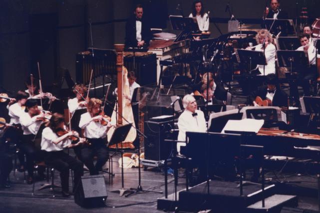Un vent venu de l'Angleterre soufflait sur Québec, à l'été1992. Deux concerts... (Louise Leblanc)