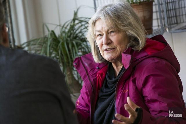 Micheline Lanctôt est porte-parole du Prix collégial du... (Archives La Presse)
