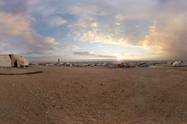 Image tirée de la vidéo Clouds over Sidra,... (Photo Chris Milk et Gabo Arora, fournie par le Centre Phi)
