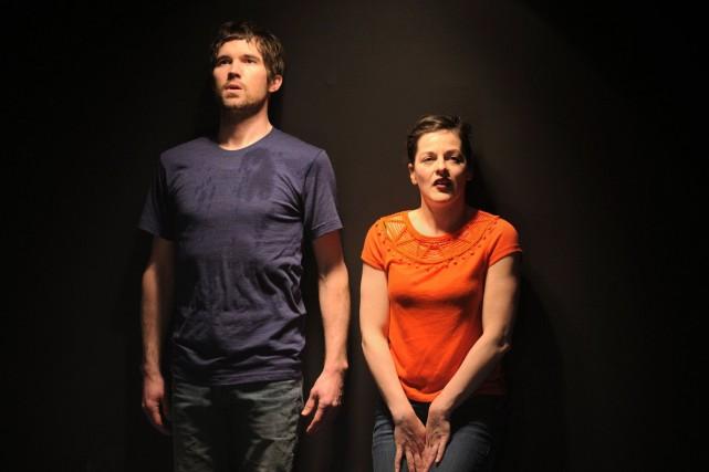 Maxime Denommée et Sophie Cadieux ne sont pas... (Photo Suzane O'Neill, fournie par La Manufacture)