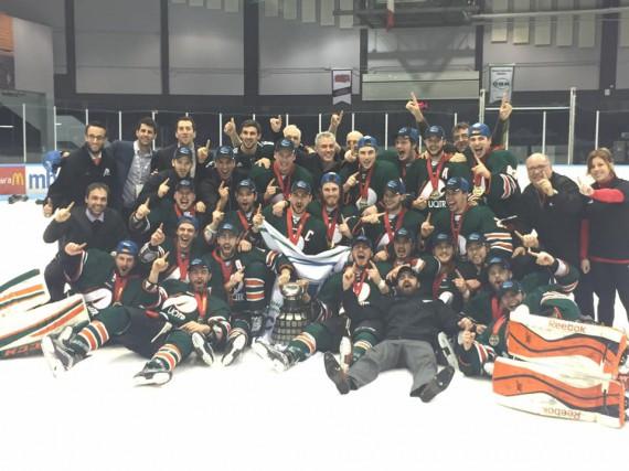 Les Patriotes ont rapatrié la coupe Queen au Québec samedi soir. Grâce à une... (Facebook)
