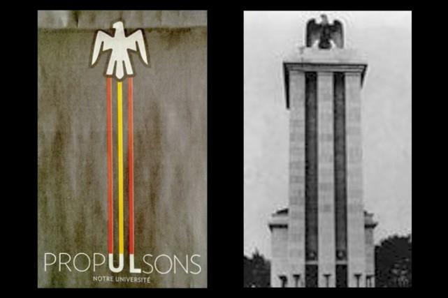 Le visuel de la campagne de publicité de... (Images tirées de Facebook, Infographie Le Soleil)