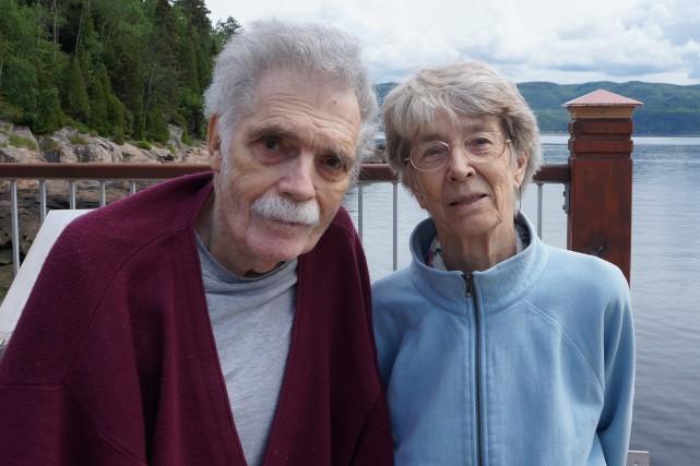 Charles-André Lamontagne et son épouse, Susan, sont tous... (Photo courtoisie)