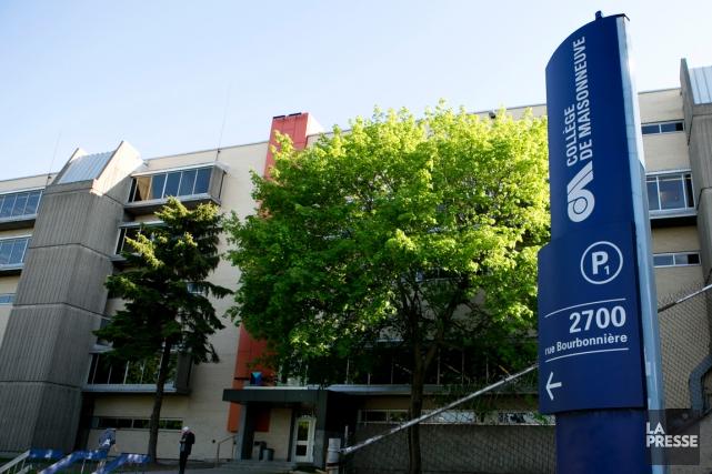 Le collège de Maisonneuve a notamment été le... (PHOTO OLIVIER JEAN, ARCHIVES LA PRESSE)