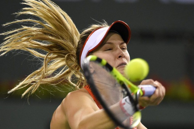 Eugenie Bouchard... (PHOTO MARK J. TERRILL, AP)