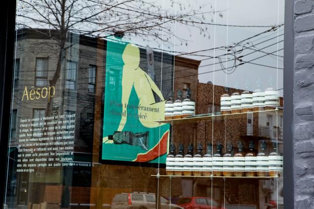 La marque Aesop a été fondée à Melbourne,... (Photo Alain Roberge, La Presse)