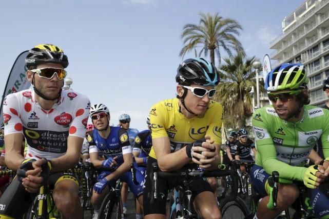 Les vainqueurs des principaux maillots du Paris-Nice: le... (Photo AFP)