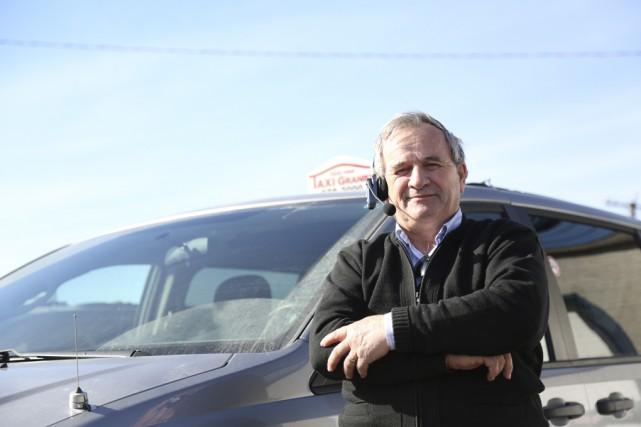 Guy Gosselin, de Taxi Granby, dénonce ce qu'il... (photo Julie Catudal)