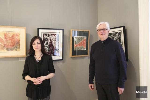 Sharon Robinson, de Sutton, et Norman Brooke, de... (Julie Catudal, La Voix de l'Est)