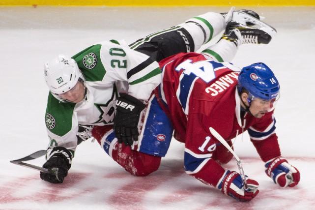 Tomas Plekanec n'arrive pas à expliquer le revirement... (La Presse Canadienne, Graham Hughes)