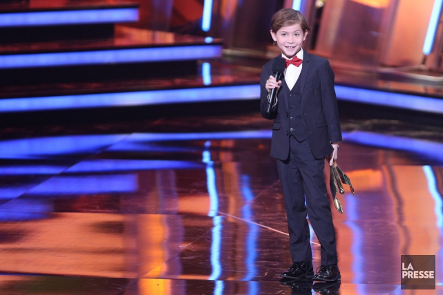 Le jeune Jacob Tremblay, neuf ans, a été... (Photo La Presse Canadienne)