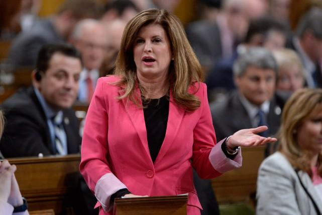 La leader intérimaire du Parti conservateur, Rona Ambrose... (PHOTOAdrian Wyld, Archives La Presse Canadienne)