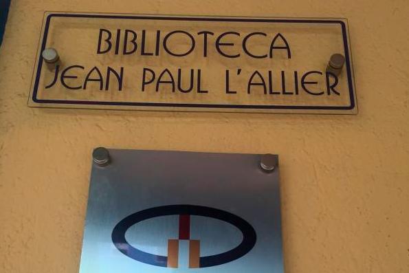La bibliothèque Jean-Paul-L'Allier se trouve dans la ville... (Tirée du site Internet de l'Organisation des villes du patrimoine mondial)
