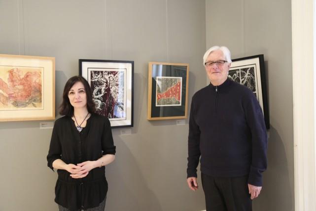 Sharon Robinson, de Sutton, et Norman Brooke, de... (photo Julie Catudal)