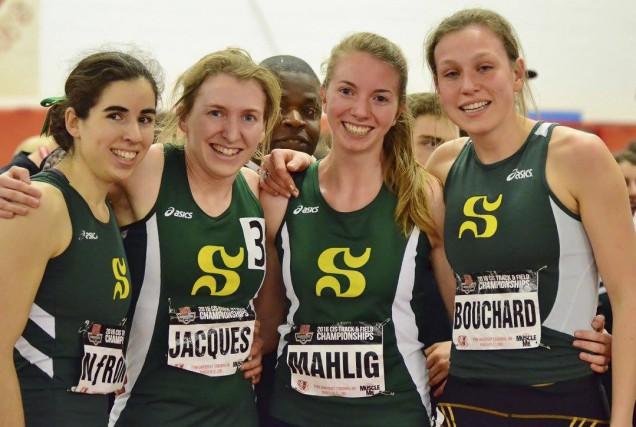 Sabrina Néron, Maïté Bouchard, Alexia Mahlig et Marie-Ève... (Photo fournie)