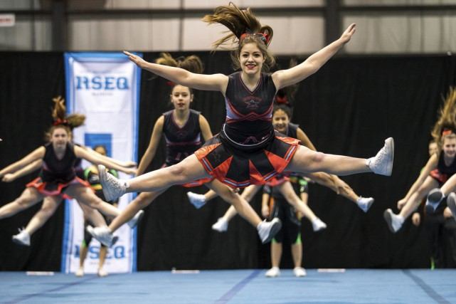 Le cheerleading à l'honneur (Olivier Croteau)