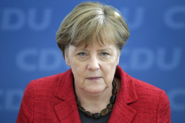 Angela Merkel... (Photo Michael Sohn, Associated Press)