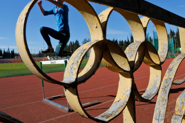 L'athlétisme russe est privé de compétitions depuis novembre 2015.... (PHOTO DMITRY LOVETSKY, ARCHIVES ASSOCIATED PRESS)