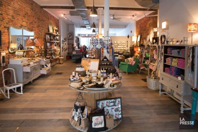La boutique Gypsie bohème est née d'une collaboration... (PHOTO IVANOH DEMERS, LA PRESSE)