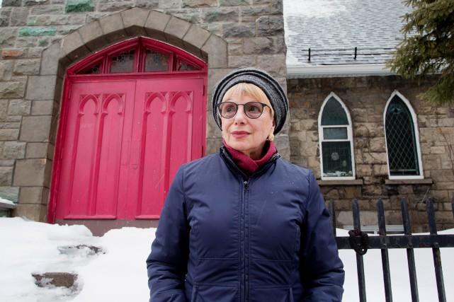 L'auteure France Théoret est une auteure féministe et... (PHOTO ALAIN ROBERGE, LA PRESSE)