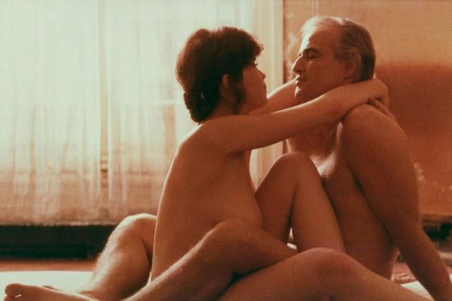 Maria Schneider et Marlon Brando dans Le dernier... (PHOTO FOURNIE PAR UNITED ARTISTS)