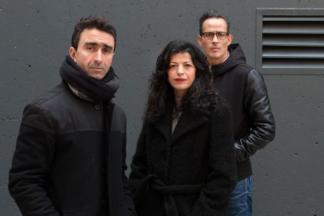 Le réalsateur de Montréal la blanche Bachir Bensaddek... (PHOTO ROBERT SKINNER, LA PRESSE)