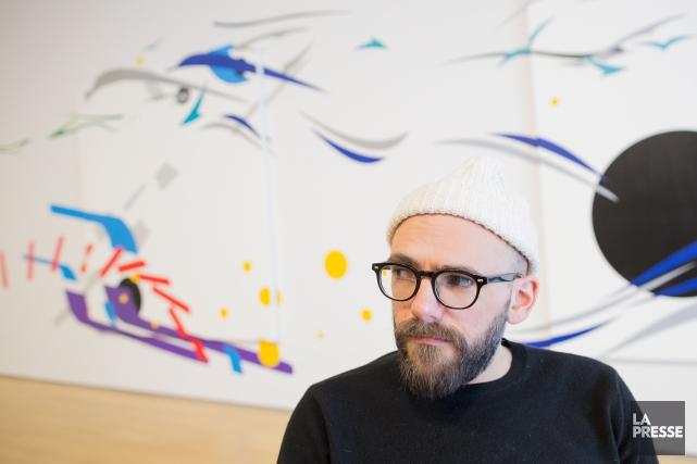 L'artiste britannique Ryan Gander expose ses oeuvres auMusée... (PHOTO ÉDOUARD PLANTE-FRÉCHETTE, LA PRESSE)