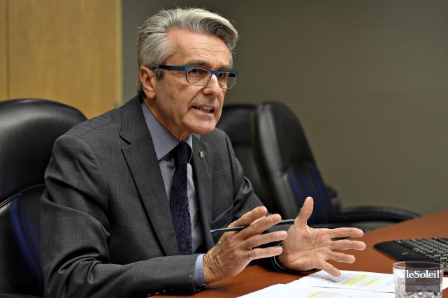 André Rainville, pdg de l'Association des firmes de... (Le Soleil, Patrice Laroche)