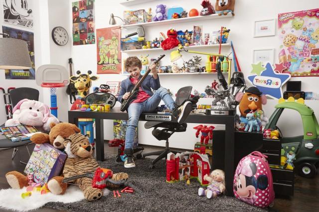 Émile Burbidge, le nouveau président-divertissement général chez Toys... (Groupe CNW/Toys