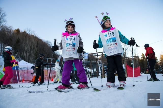 53 278 $ pour le Défi ski 12 h Leucan (Olivier Croteau, Le Nouvelliste)